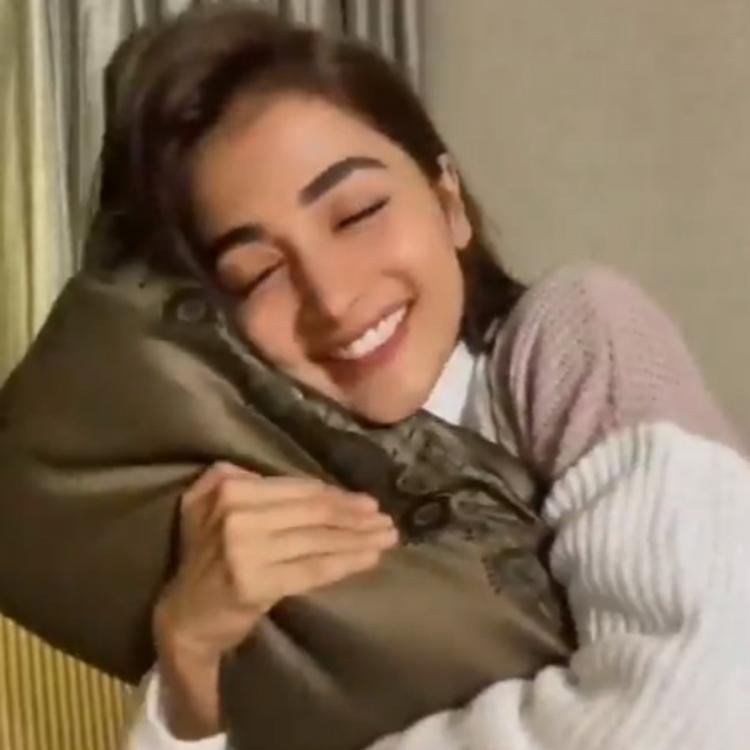 VIDEO: Pooja Hegde wishes she could hug her followers; Does THIS instead & helps us kickstart the week