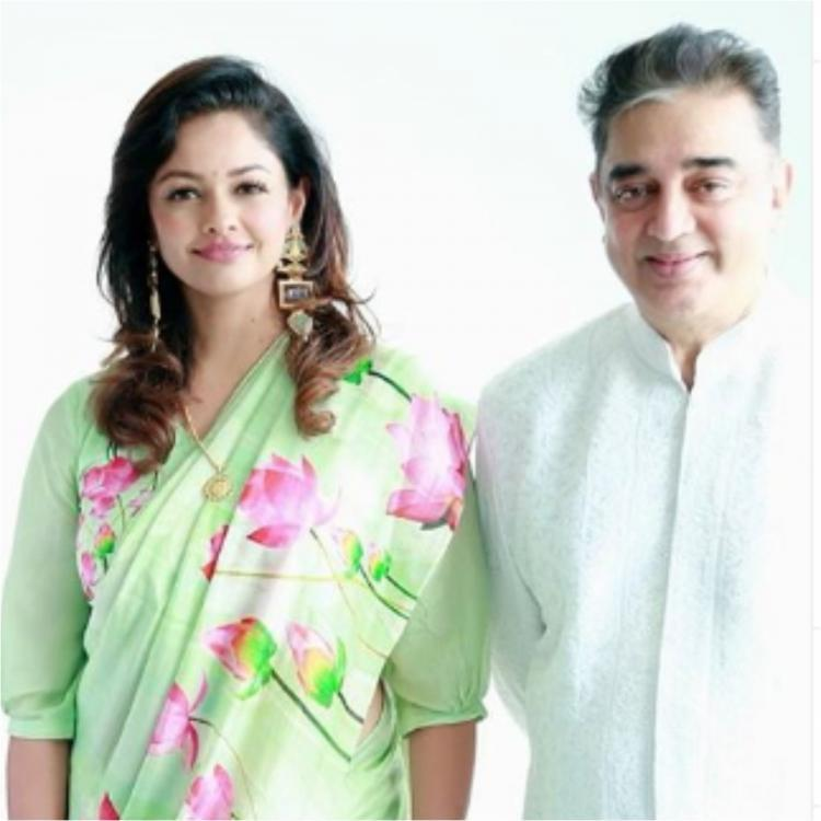 Pooja Kumar finally reacts to rumours of her being in a relationship with Kamal Haasan