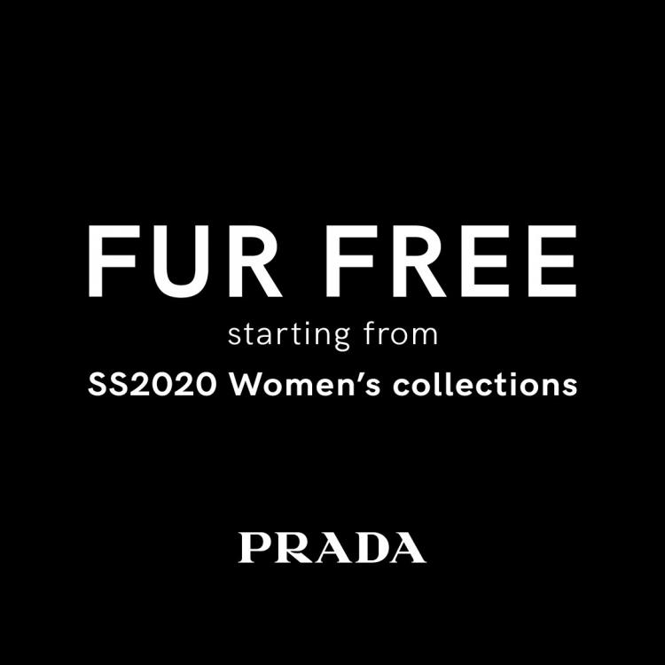 Prada and Miu Miu are the latest luxury brands on the block to go fur free