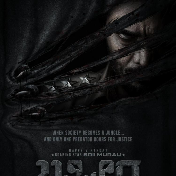 After Yash and Prabhas, Prashanth Neel collaborates with Sriimurali for his next; See intense first look