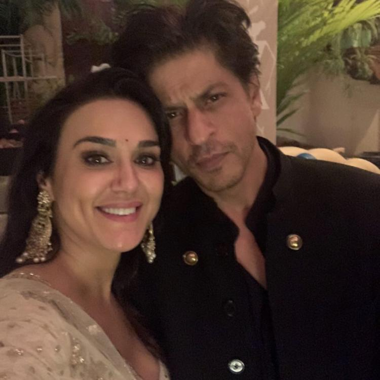 Preity Zinta makes netizens nostalgic over an old photograph with Shah Rukh Khan