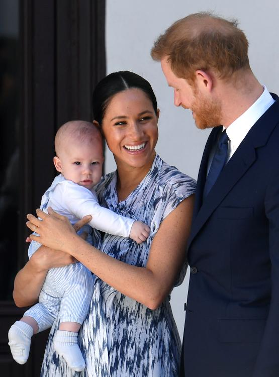 Prince Harry and Meghan Markle are currently quarantining in LA along with their 11-month-old son Archie.