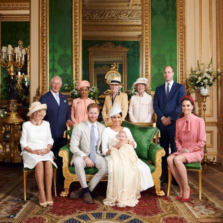 Prince Harry and Meghan Markle opted for a more private christening for their son, Archie Harrison.