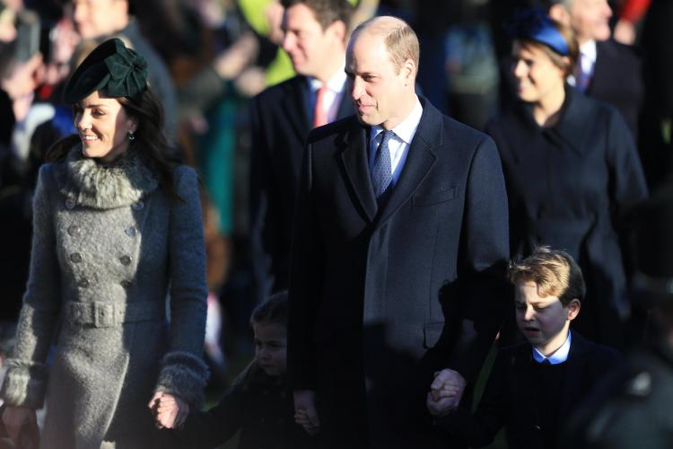 Prince Louis was missing from the Christmas festivities as he is too young to attend the royal family tradition.