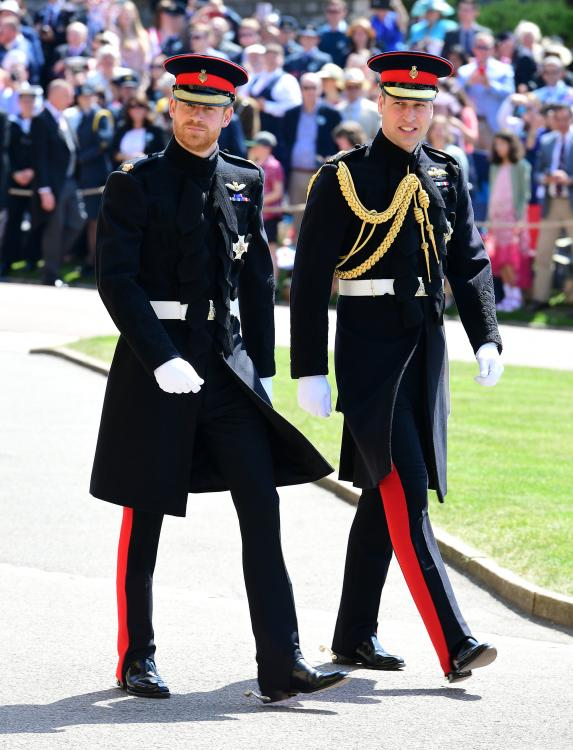 """Prince William and Prince Harry reportedly """"need space and time"""" to work things out between them."""