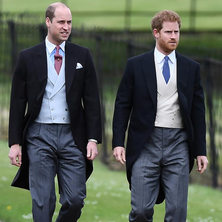 """Prince Harry, Prince William and Prince Charles will reportedly """"be cordial"""" at Prince Philip's funeral."""