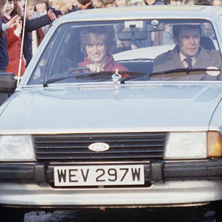 Prince Charles' engagement gift to Princess Diana, a 1981 Ford Escort, set to be auctioned off