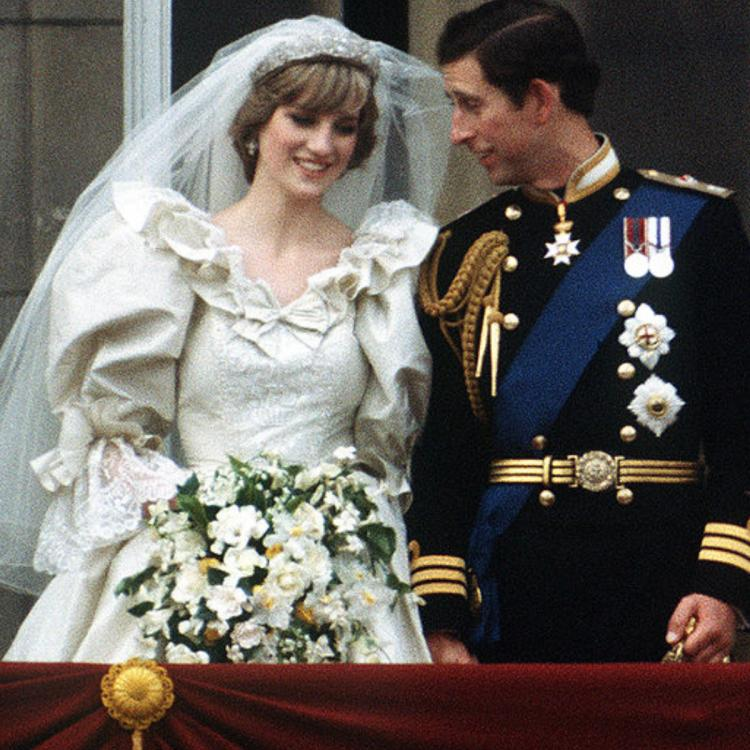 PHOTOS: Princess Diana's iconic wedding gown on display in London as part of new royal exhibit.