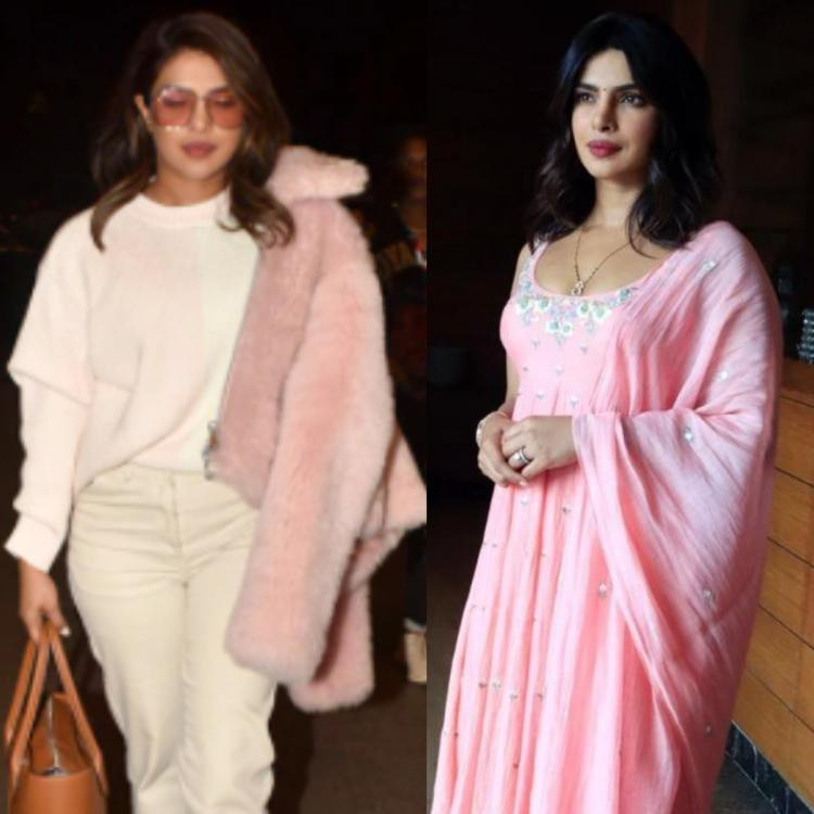 Priyanka Chopra Jonas makes a strong case for baby pink outfits; 5 times she sported the soft shade