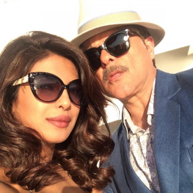 Priyanka Chopra Jonas has the quirkiest birthday wish for Anil Kapoor as she shares a throwback PHOTO with him