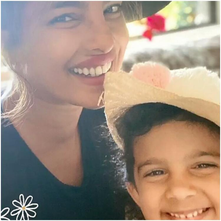 Priyanka Chopra playing dress up at her niece's 'English Tea Party' in an adorable photo will melt your heart
