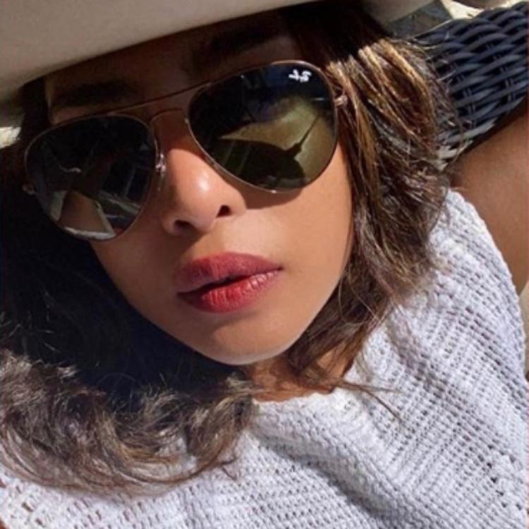Priyanka Chopra Jonas wins over the internet with her sun kissed PHOTO as she dons a white crochet outfit