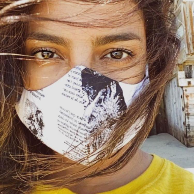 Priyanka Chopra shares a mask clad PHOTO as she steps out for the first time in 2 months
