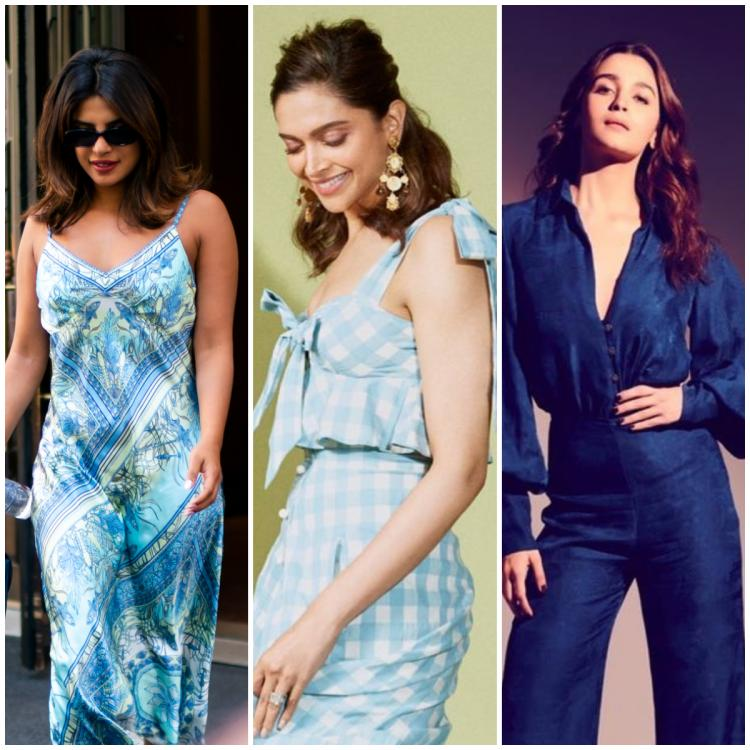 Promise Day 2021: Priyanka Chopra to Alia Bhatt: Celeb approved ways to wear the blue hue for a date night