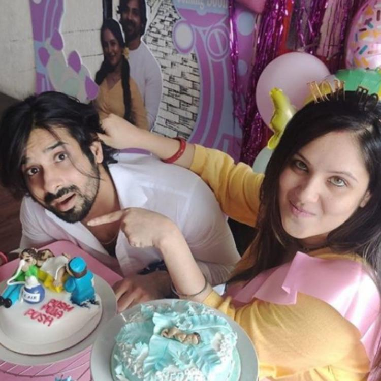 Puja Banerjee is 'overwhelmed' as hubby Kunal Verma surprises her with a quirky baby shower at home; See pics