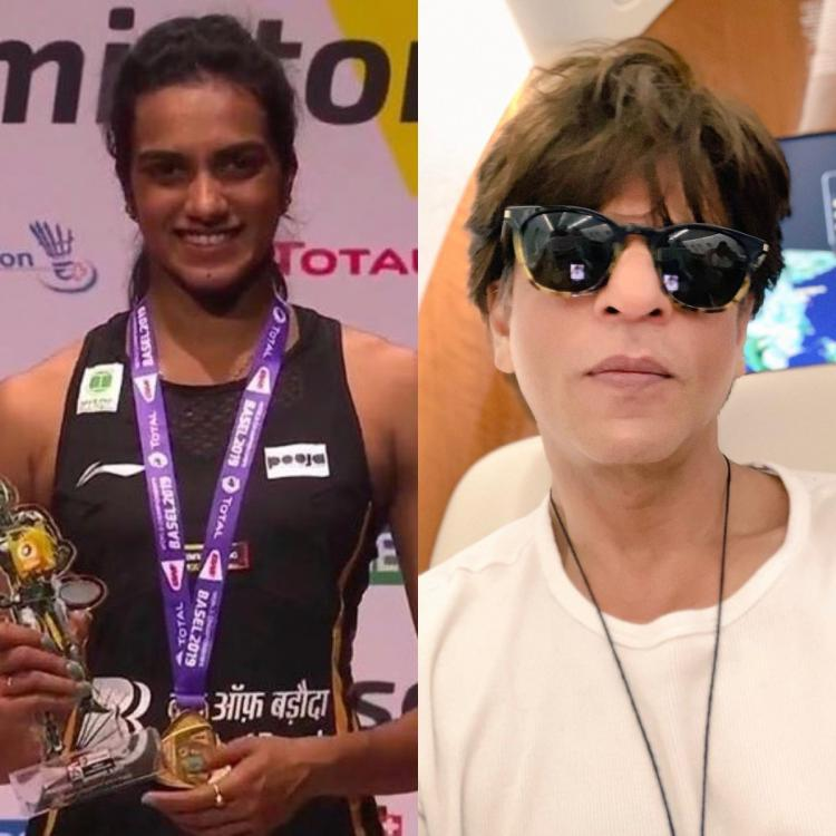 SRK, Taapsee and other Bollywood celebs congratulate P.V. Sindhu for winning BWF World Championships