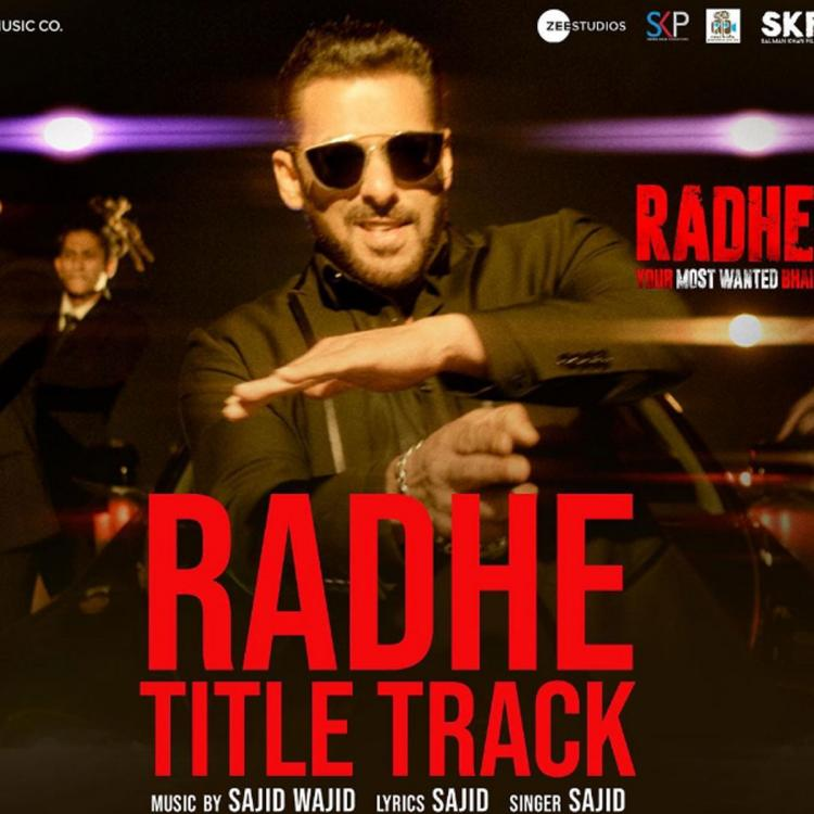 Salman Khan's Radhe: Your Most Wanted Bhai title track to release tomorrow