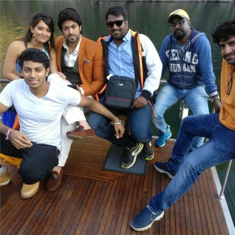 Radhika Pandit shares THROWBACK photo with Yash and friends in Norway; Gets nostalgic
