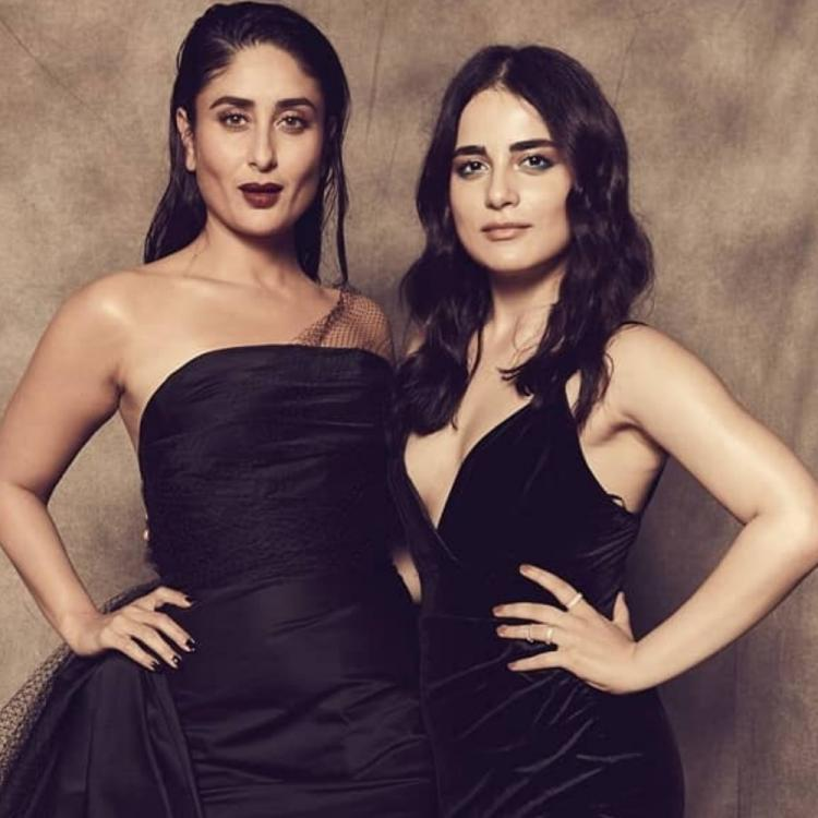 Kareena Kapoor Khan gets clicked with Angrezi Medium co star Radhika Madan as they make a statement in black