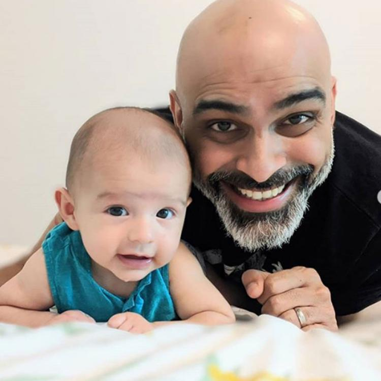 Raghu Ram introduces his son Rhythm to the world with cute pictures; Calls him the apple of his eye