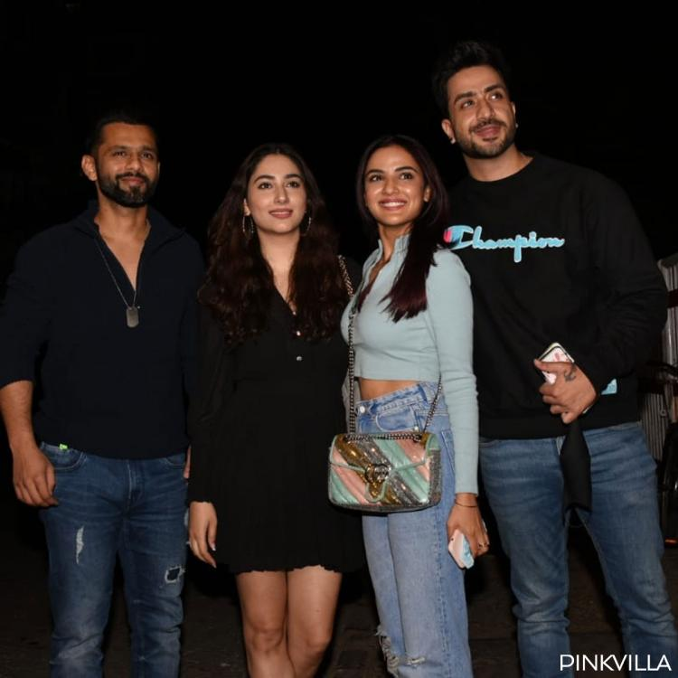 Double Date: Aly Goni, Jasmin Bhasin, Rahul Vaidya, Disha are all smile as they step out for dinner; PHOTOS