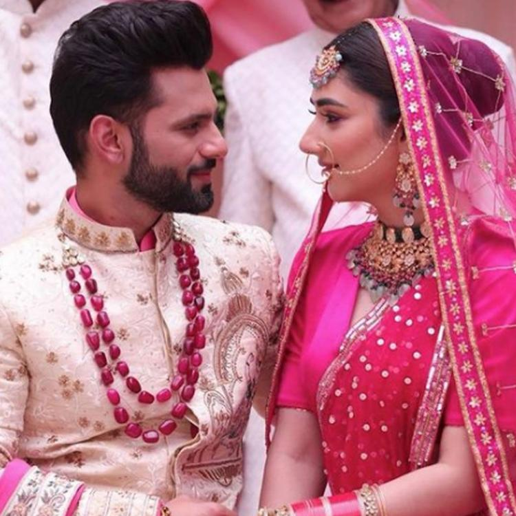 Rahul Vaidya & Disha Parmar share first look of their song; Leave fans wandering about their hush hush wedding