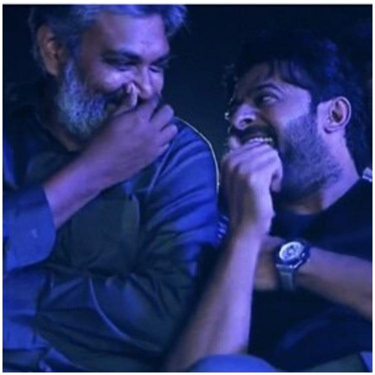SS Rajamouli and Prabhas' reaction to Saaho song Bad Boy is unmissable; WATCH VIDEO