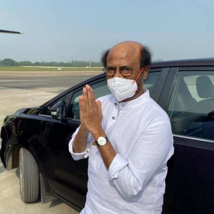 Rajinikanth gets discharged from hospital, blood pressure stabilized; Watch video