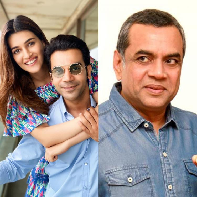 Rajkummar Rao and Kriti Sanon to collaborate with Paresh Rawal and Dimple Kapadia for an upcoming comedy film