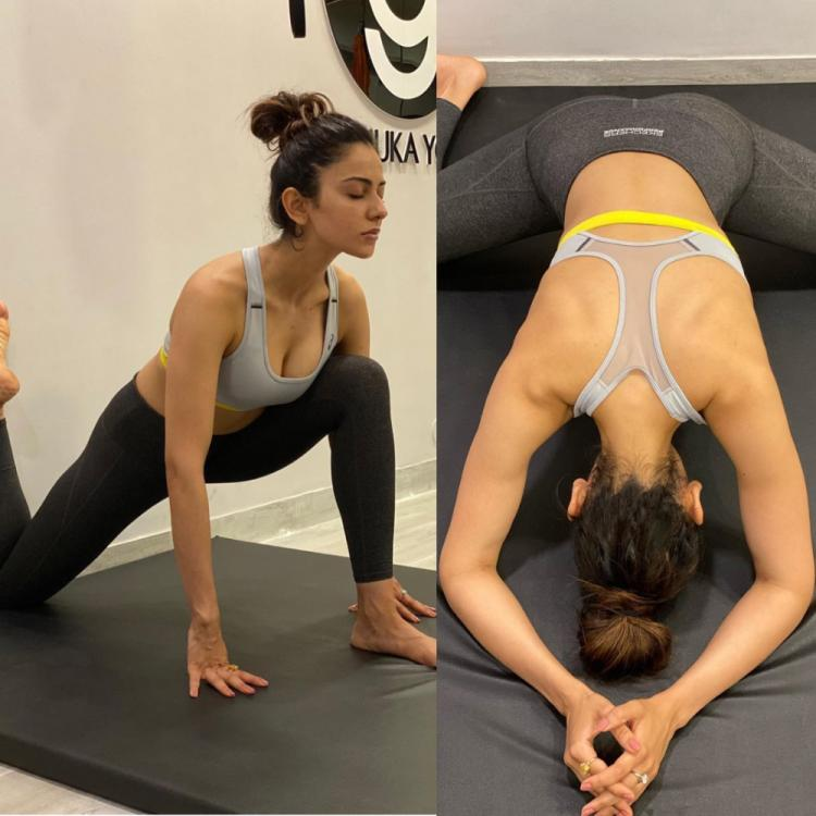 Rakul Preet's latest workout pictures will make you want to hit the gym right away; Check it out