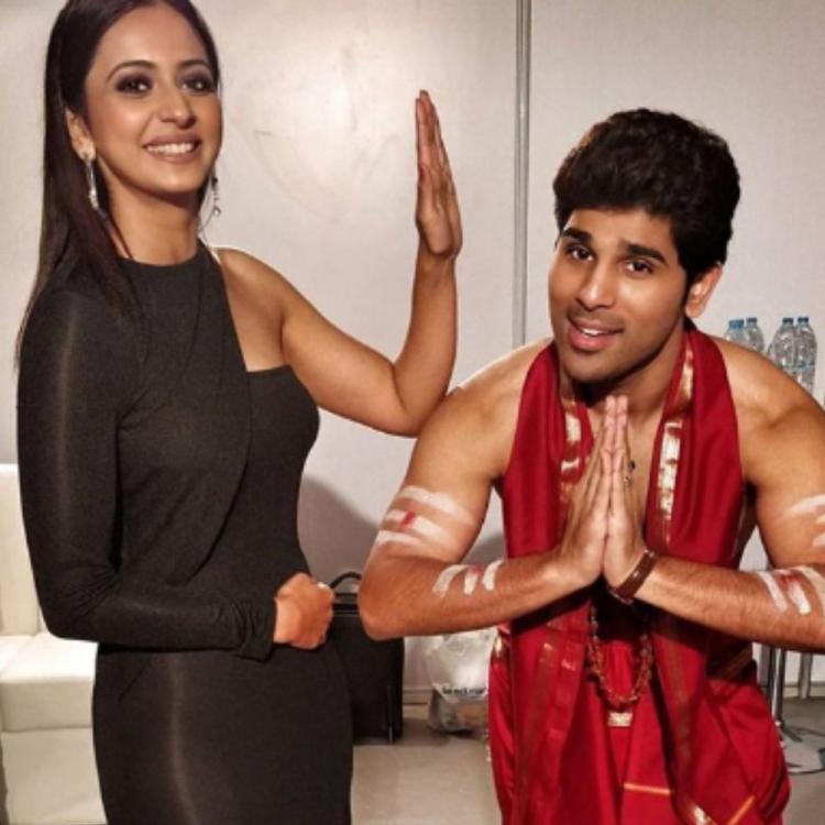 Rakul Preet Singh and Allu Sirish's funny candid moments in a throwback PHOTO are hard to miss