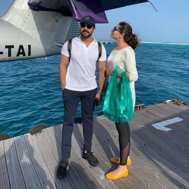 Ram Charan's wife Upasana shares a pic from their Maldives holiday & thanks him for making everyday special