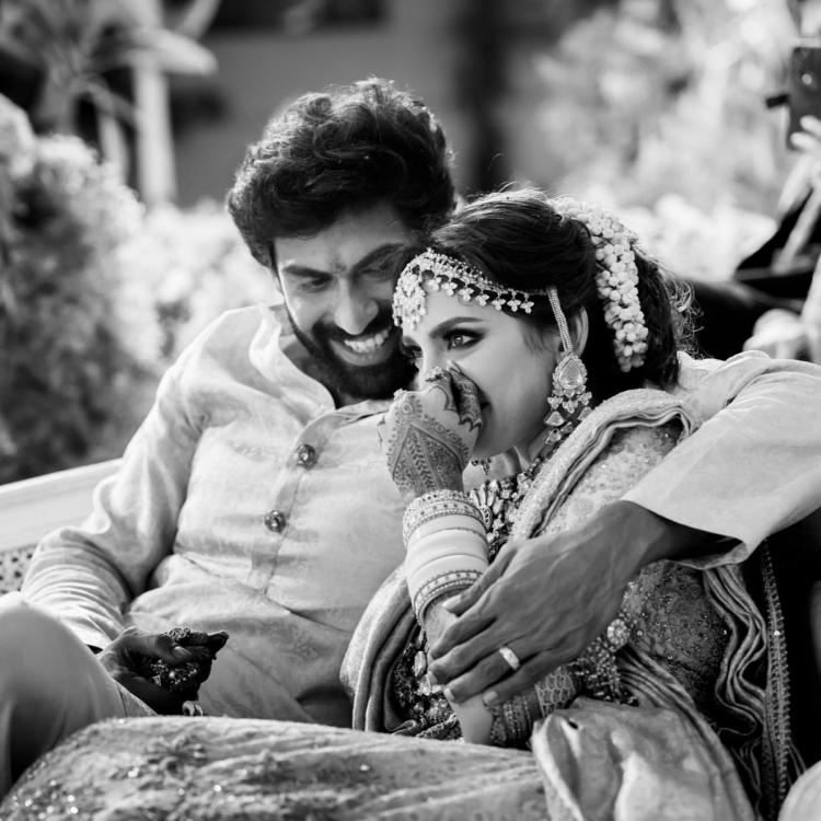 Rana Daggubati and Miheeka Bajaj can't let go of each other in these NEW PHOTOS from their wedding