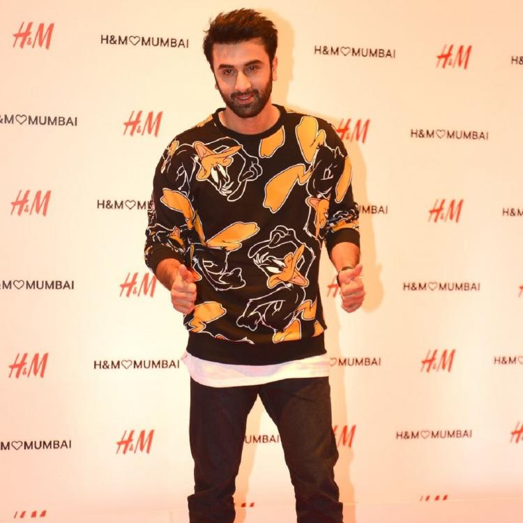 Ranbir Kapoor spotted at an event