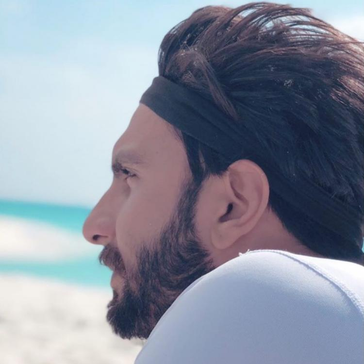 Ranveer Singh seems to miss his vacation time with Deepika Padukone as he shares unseen photos from his trips