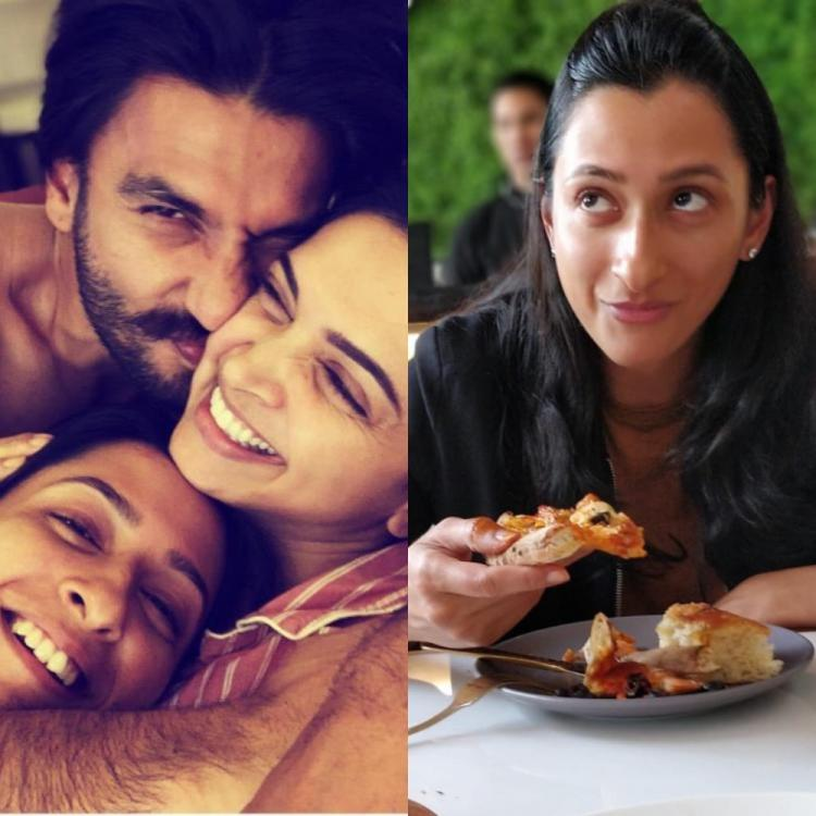 Ranveer Singh REACTS to Anisha Padukone's throwback pizza photo and fans call him the coolest jiju ever