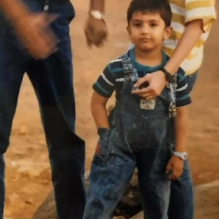 Ranveer Singh's cool swag in denim dungarees as a cute little boy in a childhood PIC will leave you impressed