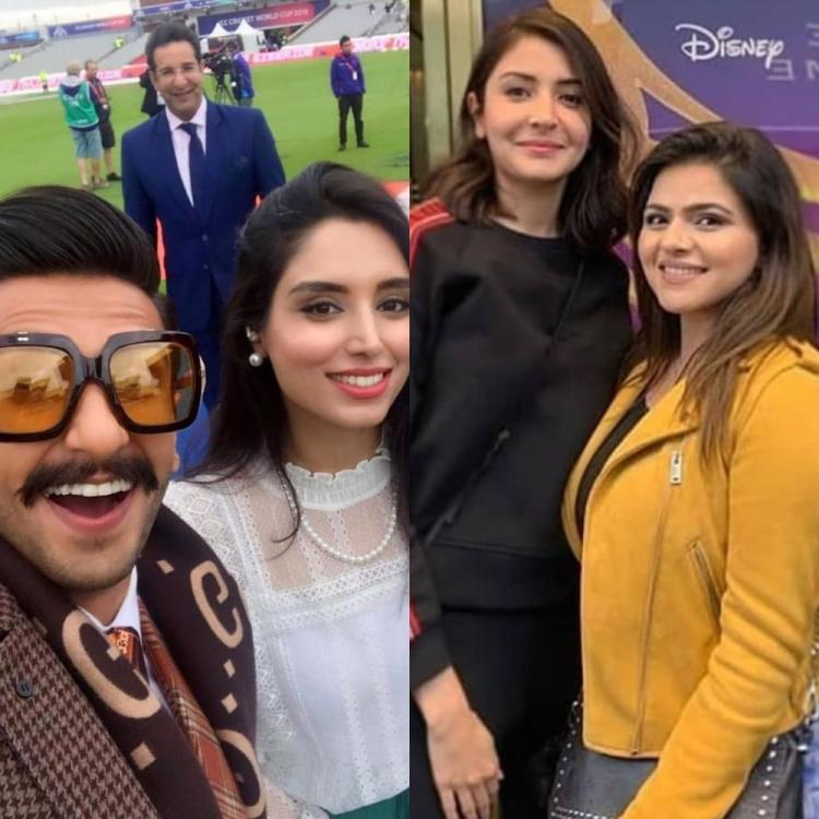World Cup 2019: Ranveer Singh's snaps a selfie with Wasim Akram, Anushka Sharma poses with fan