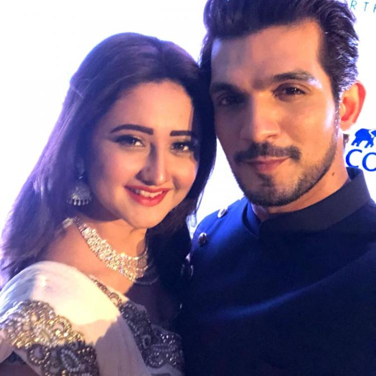 Rashami Desai's throwback PICTURES with Arjun Bijlani and his son Ayaan show their fun moments
