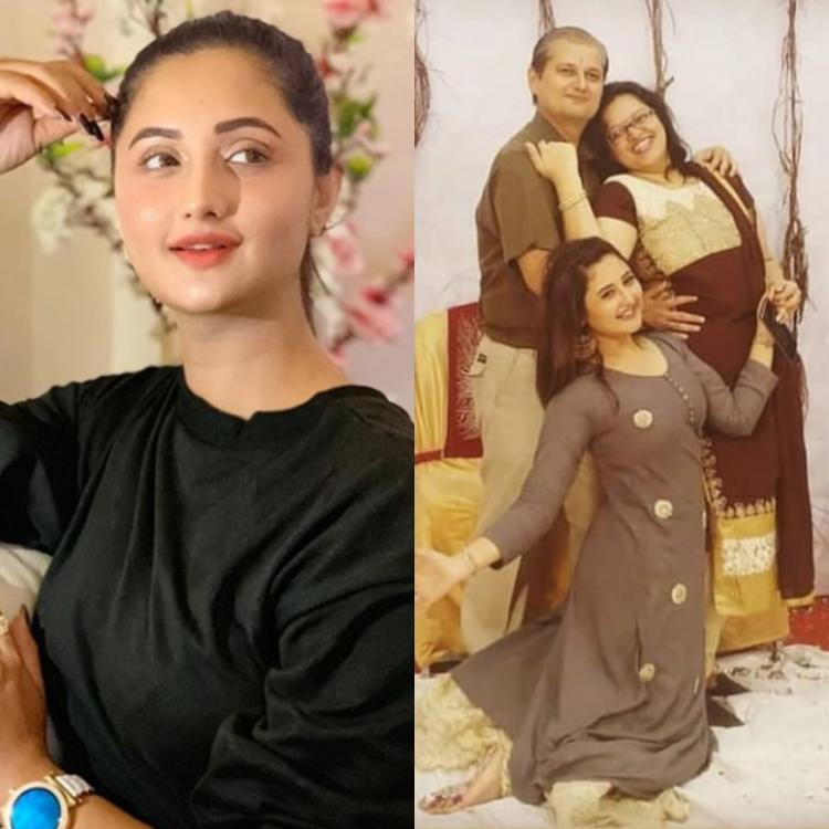 Rashami Desai's RARE pictures with her bhaiya, bhabhi and niece cannot be missed