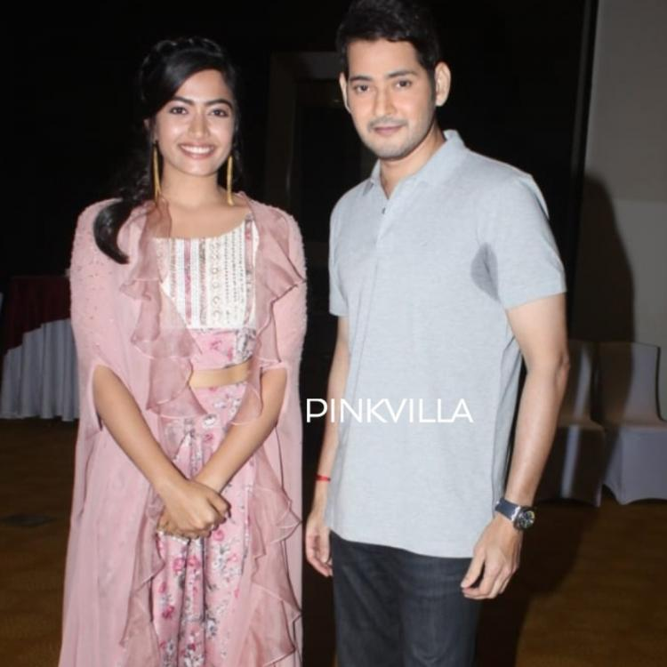 Rashmika Mandanna sends a gift hamper with a special handwritten note for Mahesh Babu and family; See Pic