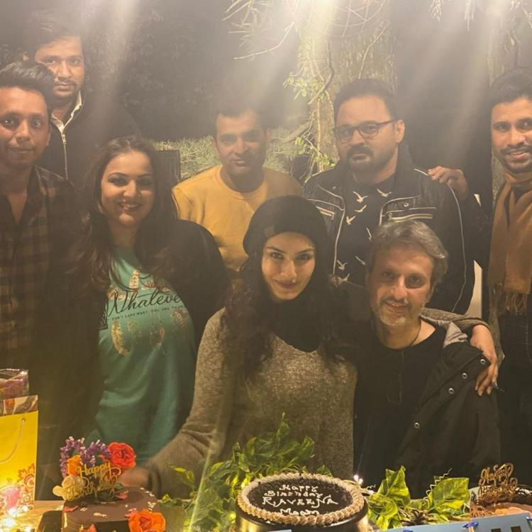Raveena Tandon rings in her birthday with husband in Dalhousie