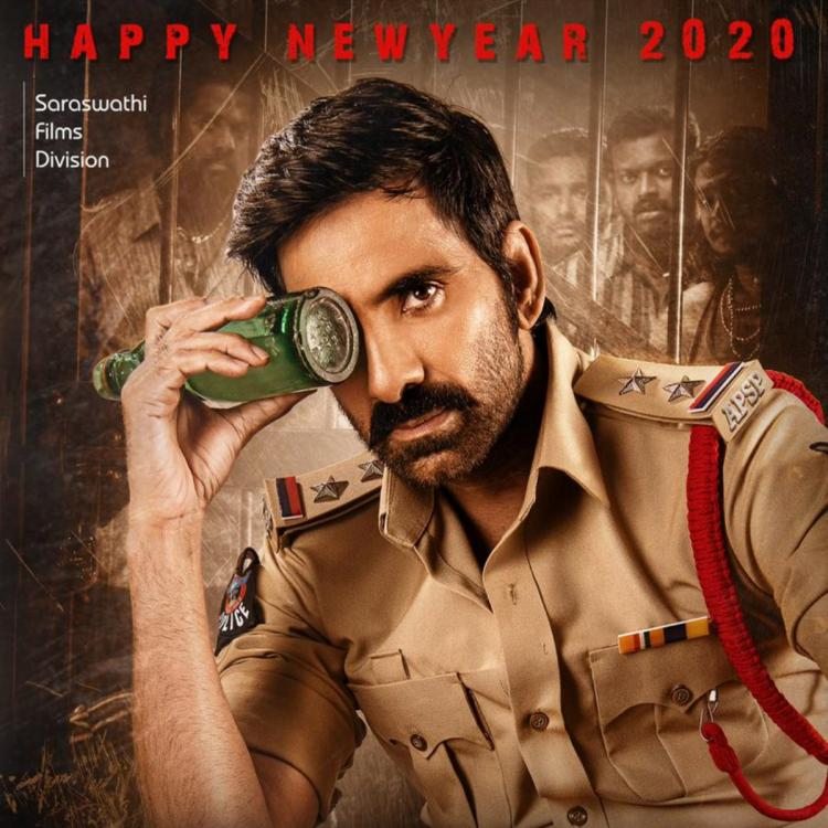 Krack First Look: Ravi Teja plays a tough cop in the Gopichand Malineni directorial