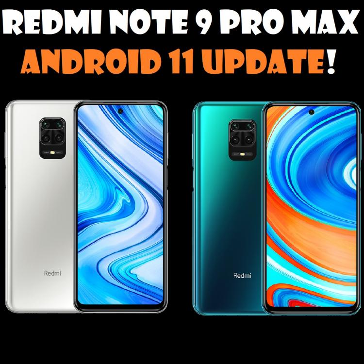 Xiaomi, Redmi Note 9 Pro, News, Android Update