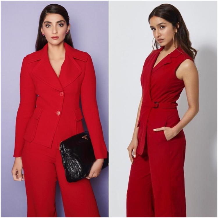 Fashion Faceoff: Sonam or Shraddha Kapoor; Who wore the head to toe red outfit better?