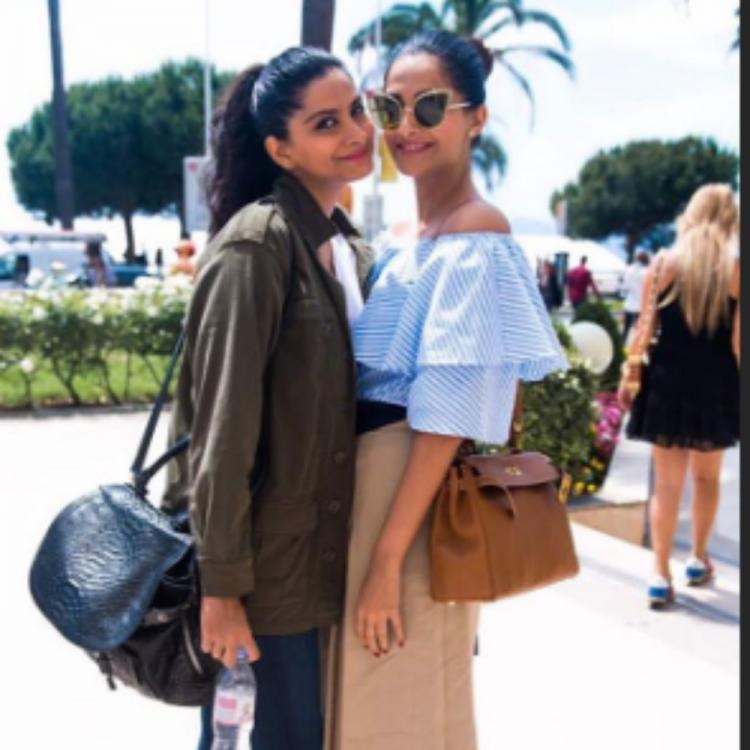 Sonam Kapoor & Anand Ahuja send birthday wishes for her sister Rhea by sharing adorable throwback PHOTOS
