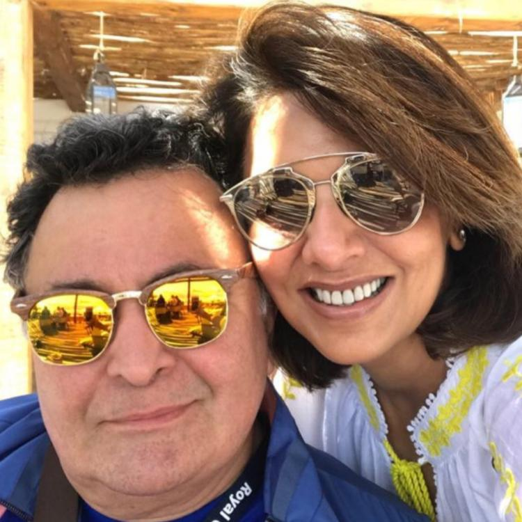 Riddhima Kapoor shared a throwback picture of her father actor Rishi Kapoor and Neetu Kapoor