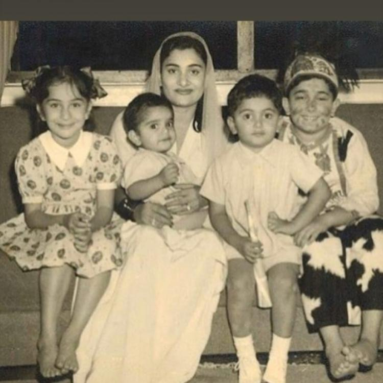 Riddhima Kapoor Sahni shares a 'classic' UNSEEN photo of Rishi Kapoor, Randhir Kapoor & other siblings
