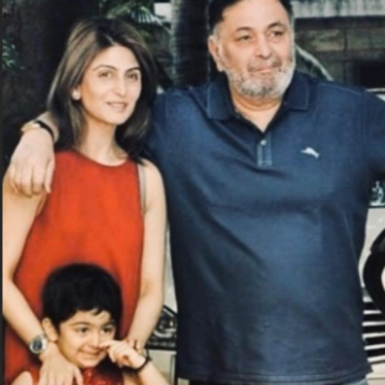 Riddhima Kapoor Sahni shares another memorable PIC with Rishi Kapoor; Urges mom Neetu Kapoor to be strong