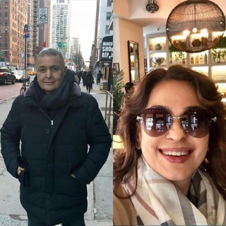 Rishi Kapoor to reunite with former co star Juhi Chawla for a film post his return to India; DEETS inside